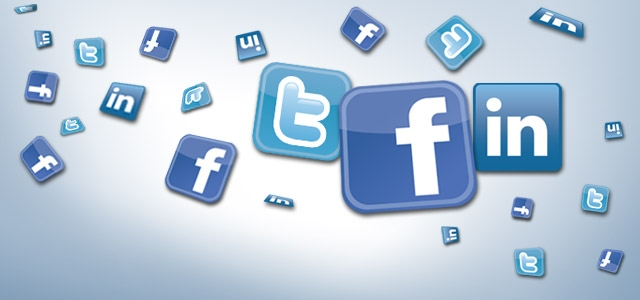 Online marketing with Facebook, Twitter and LinkedIn