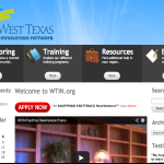 Dream Spectrum designs website for West Texas Innovation Network
